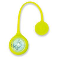 アスカ マグネットクリップ式安全ライト グリーン SL01G 1個 (直送品)