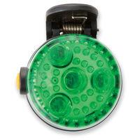 アスカ 2WAYLED安全ライト グリーン SL02G 1個 (直送品)