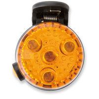 アスカ 2WAYLED安全ライト オレンジ SL02O 1個 (直送品)