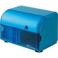 ナカバヤシ 電動鉛筆削り器ワイドタイプ/ブルー DPS-101B 1個 (直送品)