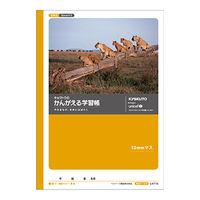キョクトウ・アソシエイツ かんがえる学習帳 全科目10mm方眼ノート L4710 10冊 (直送品)