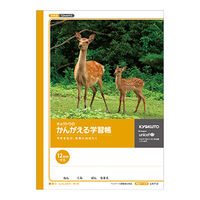 キョクトウ・アソシエイツ かんがえる学習帳 全科目12mm方眼ノート L4712 10冊 (直送品)