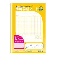 キョクトウ・アソシエイツ 家庭学習ノート15mmマス LGA15GR 10冊 (直送品)