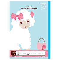 日本ノート カレッジアニマルじゆうノート プードル LT02LB 10冊(直送品)