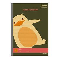 キョクトウ・アソシエイツ カレッジアニマル横罫ノート ペンギン LT03K 10冊 (直送品)
