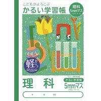 ナカバヤシ B5理科5ミリマスリーダー入り NB51-LH5 10冊 (直送品)