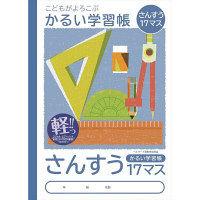 ナカバヤシ B5さんすう17マス NB51-S17M 10冊 (直送品)
