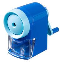 レイメイ藤井 手動鉛筆削器(芯先調節付)ブルー RT121A 1個 (直送品)