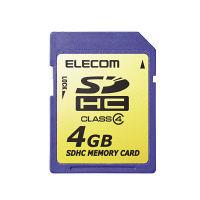 エレコム SDHCメモリカード 4GB MF-FSDH04G (直送品)