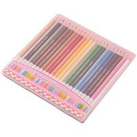 レイメイ藤井 先生オススメ 色鉛筆24色 ピンク RE142 1個 (直送品)
