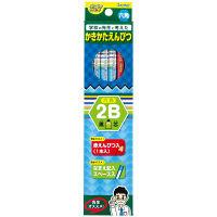 レイメイ藤井 先生オススメ かきかた鉛筆2B(鉛筆11本+赤鉛筆1本)ブルー RE645 5ダース (直送品)