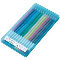 レイメイ藤井 先生オススメ 色鉛筆12色 ブルー RE711 2個 (直送品)