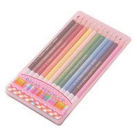 レイメイ藤井 先生オススメ 色鉛筆12色 ピンク RE712 2個 (直送品)