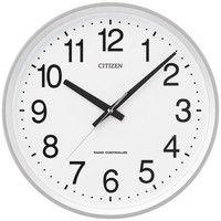 リズム時計(RHYTHM) サークルポート [電波 掛け 時計] 4MYA24-019 1個 (直送品)