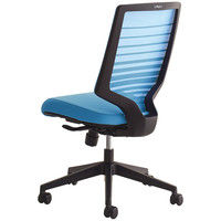 SIDIZ T30チェア オフィスチェア 肘無し ブルー FHTN302RF005 1脚 (直送品)