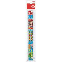 三菱鉛筆 スーパーマリオ赤鉛筆2本組 K881SMS22P 10パック(1パック2本入) (直送品)