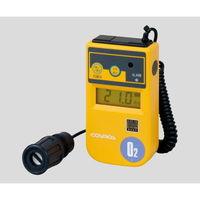 新コスモス電機 酸素濃度計 1m(カールコード式) バイブレーション付 校正証明付 XO-326IIsB 1個 1-8752-16 (直送品)
