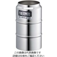 サーモス(THERMOS) ステンレスデュワー瓶(2重構造)300mL D-301 1個 3-5121-12 (直送品)