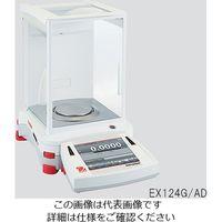 オーハウス 分析天びん 風防扉自動開閉タイプ 120g EX124G/AD 1個 3-5126-01 (直送品)