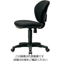 弘益(KOEKI) スイングチェア(ロッキング機能付)K-921(BK)ブラック 1脚 3-5175-03 (直送品)