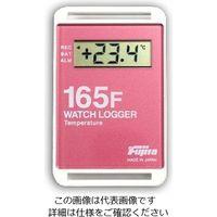 藤田電機製作所 サンプル別個別温度管理ロガー 赤 KT-165F/R 1個 3-5298-02 (直送品)
