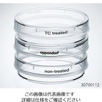 エッペンドルフ(Eppendorf) 細胞培養用ディッシュ 無処理 φ59.7×15.7mm 0030701011 3-5574-04 (直送品)