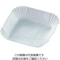 アズワン ペーパーディッシュ (紙タイプ) 白 47.6×47.6×14.2mm HS120315 1袋(500枚) 3-5989-04(直送品)
