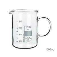 SIMAX ガラス手付ビーカー 400mL 154/400 1個 3-6008-02 (直送品)