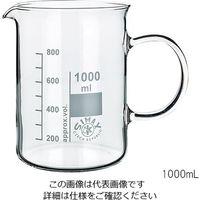 SIMAX ガラス手付ビーカー 1000mL 154/1000 1個 3-6008-04 (直送品)