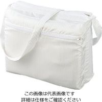 アズワン クリーンルームショルダーバッグ(マチ付) GM-002-0 ホワイト 1個 3-6134-01 (直送品)