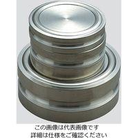 新光電子 円盤分銅 5000g 等級F2級 JCSS校正付(1級) F2DS-5K-JCSS2 1個 3-6245-03(直送品)