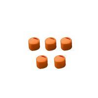 アズワン クライオチューブ用 キャップインサート(オレンジ) 500本/袋×4袋入 6000-03 1箱(2000個) 3-6367-03 (直送品)