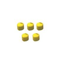 クライオチューブCryoFreeze(R) キャップインサート(黄) 500本/袋×4袋入 6000-06 3-6367-06 (直送品)