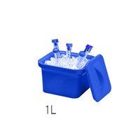 アズワン アイスパン Magic Touch 2(TM) 容量 1L ブルー M16807-1101 1個 3-6457-01 (直送品)