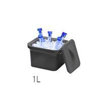 アズワン アイスパン Magic Touch 2(TM) 容量 1L ブラック M16807-1102 1個 3-6457-02 (直送品)