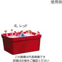 アズワン アイスパン Magic Touch 2(TM) 容量 4L レッド M16807-4103 1個 3-6458-03 (直送品)