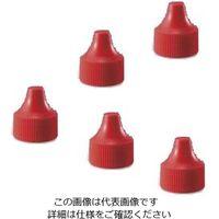 WHEATON 微量定量点滴びん キャップ 赤 1・3mL用 キャップ1 1箱(100個) 3-6882-03 (直送品)