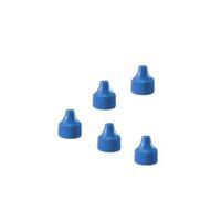WHEATON 微量定量点滴びん キャップ 青 1・3mL用 キャップ1 1箱(100個) 3-6882-04 (直送品)