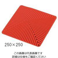 アズワン ラボラトリーシリコンマット 250×250mm レッド 1枚 3-6915-01 (直送品)