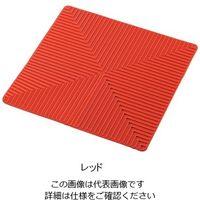 アズワン ラボラトリーシリコンマット 350×350mm レッド 1枚 3-6915-02(直送品)