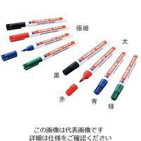 アズワン ラボペン (edding) 極細 黒 0.75mm 1本 3-7108-01 (直送品)