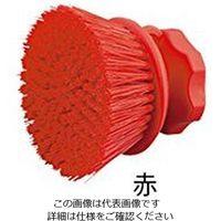 アズワン サニーフーズHACCPブラシ ハンドブラシ 丸型 赤 1本 2-2307-12 (直送品)
