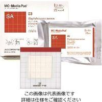 JNC(ジェイエヌシー) MC-Media Pad SA(TM) 黄色ブドウ球菌用 (1000枚) 1ケース(1000枚) 2-5838-64 (直送品)