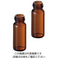広口スクリューキャップバイアル 茶色 5188-6535 100個(フタなし) 2-7070-24 (直送品)