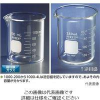 コーニングジャパン ビーカー PYREX(R) 100mL 1000J-100 1個 2-9425-16 (直送品)