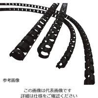 日本ピラー工業 導電性(帯電防止)チューブカバー 10・12mm用 1巻(20m) CTC-08 1巻 3-3146-02(直送品)