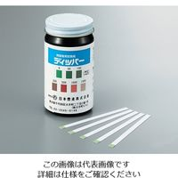 アズワン 残留塩素試験紙 0〜1500mg/L ディッパー 1組(100枚) 3-4741-01 (直送品)