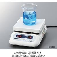 アズワン セラミックホットスターラー (デジタルタイプ) 550℃ 175×178mm CHPS-170DF 1個 2-8081-41 (直送品)