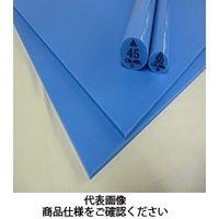 三ツ星ベルト ナイロン・ポリエステルシート キャストナイロン CN-NB 板 40t×500W×1000L ブルー 40tx500Wx1000L (直送品)