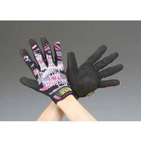 エスコ(esco) [S/女性用] 手袋・メカニック(合成革) 1セット(2双) EA353BT-90(直送品)